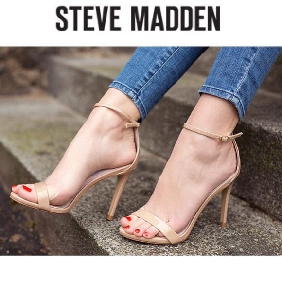 3ba334140f6 Steve Madden Stecy sandal size 7.5, blush patent